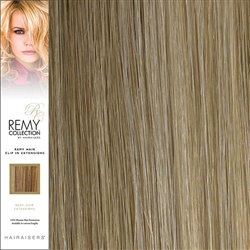 Hairaisers Remy Clip In Human Hair Extensions Colour 16/SB 20 Inches