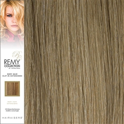 Hairaisers Remy Clip In Human Hair Extensions Colour 18/22 20 Inches