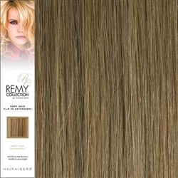 Hairaisers Remy Clip In Human Hair Extensions Colour 18 20 Inches