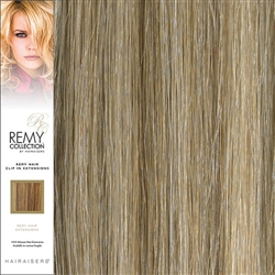 Hairaisers Remy Clip In Human Hair Extensions Colour 18/SB 20 Inches