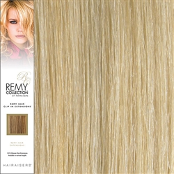 Hairaisers Remy Clip In Human Hair Extensions Colour 24/SB 20 Inches