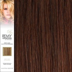 Hairaisers Remy Clip In Human Hair Extensions Colour 33 20 Inches