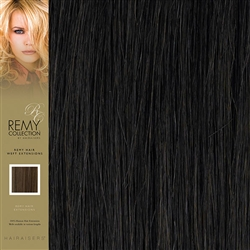 Hairaisers Indian Remy Human Hair Weft Extensions Colour 2 16 Inches