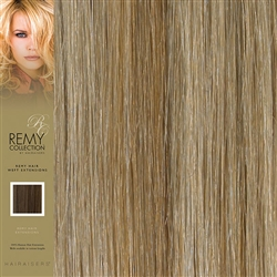 Hairaisers Indian Remy Human Hair Weft Extensions Colour 27/SB 16 Inches