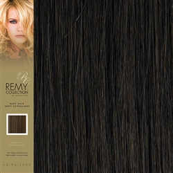 Hairaisers Indian Remy Human Hair Weft Extensions Colour 4 16 Inches