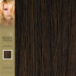 Hairaisers Indian Remy Human Hair Weft Extensions Colour 5 16 Inches