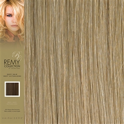 Hairaisers Indian Remy Weft Human Hair Extensions Colour 16 18 Inches