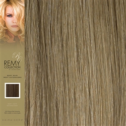 Hairaisers Indian Remy Weft Human Hair Extensions Colour 18/22 18 Inches