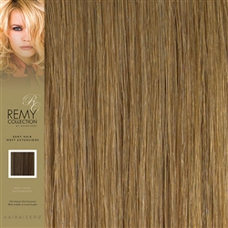 Hairaisers Indian Remy Weft Human Hair Extensions Colour 27 18 Inches