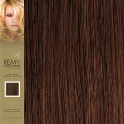 Hairaisers Indian Remy Weft Human Hair Extensions Colour 33 18 Inches