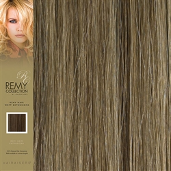 Hairaisers Indian Remy Human Hair Weft Extensions Colour 14/24 20 Inches
