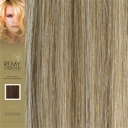 Hairaisers Indian Remy Human Hair Weft Extensions Colour 18/SB 20 Inches