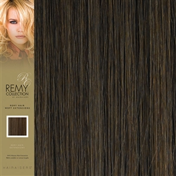 Hairaisers Indian Remy Human Hair Weft Extensions Colour 6 20 Inches