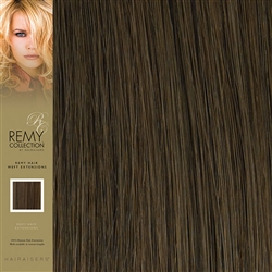 Hairaisers Indian Remy Human Hair Weft Extensions Colour 8 20 Inches