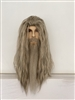 Gandalf Wig, Beard and Moustache Costume Set
