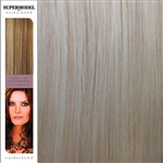 Hairaisers Supermodel 18 Inches Colour 1001 Clip In Human Hair Extensions