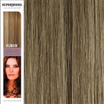 Hairaisers Supermodel 18 Inches Colour 14/24 Clip In Human Hair Extensions