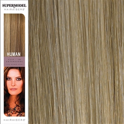 Hairaisers Supermodel 18 Inches Colour 16/SB Clip In Human Hair Extensions