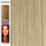 Hairaisers Supermodel 18 Inches Colour 22/SB Clip In Human Hair Extensions