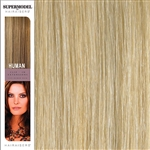 Hairaisers Supermodel 18 Inches Colour 24/SB Clip In Human Hair Extensions