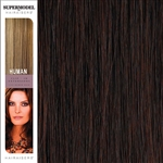 Hairaisers Supermodel 18 Inches Colour 32 Clip In Human Hair Extensions