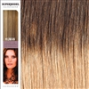 Supermodel 18 Inches Ombre Colour 2/18 Clip In Human Hair Extensions