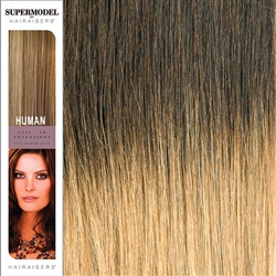Supermodel 18 Inches Ombre Colour 4/16 Clip In Human Hair Extensions