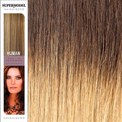 Supermodel 18 Inches Ombre Colour 4/22 Clip In Human Hair Extensions