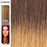 Supermodel 18 Inches Ombre Colour 4/27 Clip In Human Hair Extensions