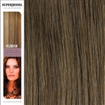 Hairaisers Supermodel 20 Inches Colour 14 Clip In Human Hair Extensions