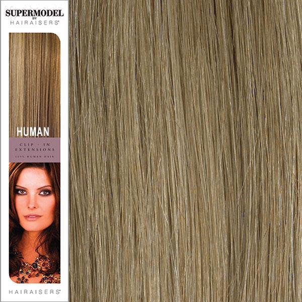 Hairaisers Supermodel Clip In Human Hair Extensions 20 Inches
