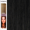 Hairaisers Supermodel 20 Inches Colour 2 Clip In Human Hair Extensions
