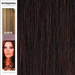 Hairaisers Supermodel 20 Inches Colour 32 Clip In Human Hair Extensions