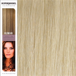 Hairaisers Supermodel 20 Inches Colour 60 Clip In Human Hair Extensions