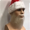 Medium Length Santa Claus Beard and Moustache Set