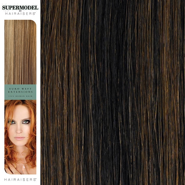 Hairaisers Supermodel Human Hair Weave Extensions 16 Inches Colour