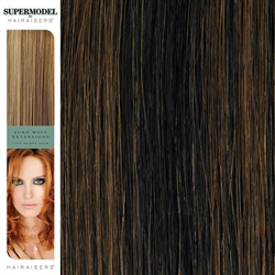 Hairaisers Supermodel 16 Inches Colour 1B/30 Weave Human Hair Extensions