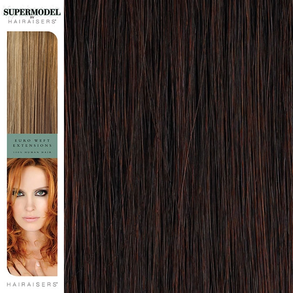 Hairaisers Supermodel Human Hair Weave Extensions 18 Inches Colour 32