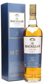 The Macallan 12 Years Old Highland Single Malt Fine Oak