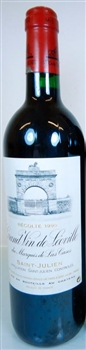 Chateau Leoville Las Cases 1995 (damage label)