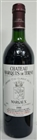 Chateau Marquis de Terme 1986 (damage label)