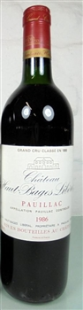 Haut Bages Liberal 1985