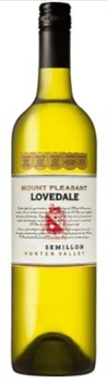 Mount Pleasant Lovedale Semillon 2013