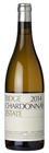 Ridge Estate Chardonnay, Santa Cruz Mts 2016