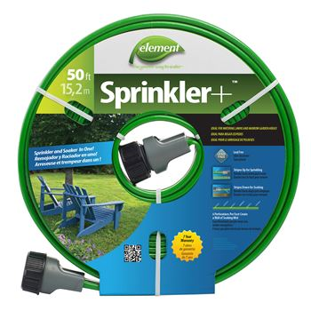 Element Sprinkler+ - Sprinkler and Soaker Hose Combination