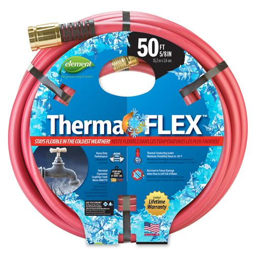 "Element ThermaFLEX 50' 5/8"" Cold Weather Hose"