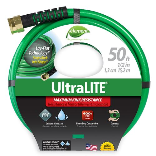 Element ULTRALite Hose - Green