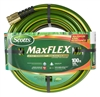 100-ft. 5/8-in. kink resistant and flexible Scotts MaxFLEX garden hose featuring Snap Back Into Shape Technology