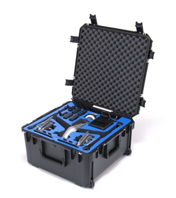 DJI Inspire 2 Travel Mode Case from Drones Made Easy San Diego