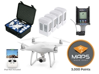 Phantom 4 Pro Deluxe Mapping Bundle from Drones Made Easy San Diego